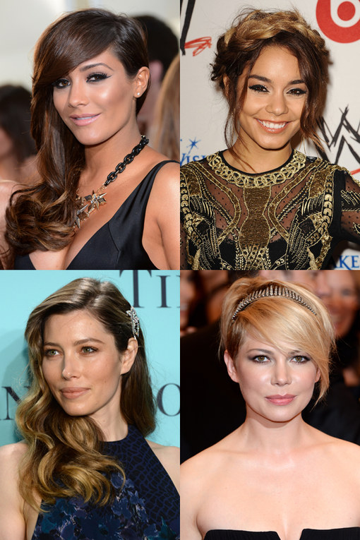 Hairstyles for growing out hair: Celebrity inspiration