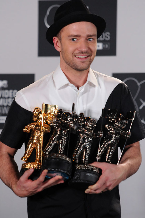 Justin Timberlake, el triunfador de la noche
