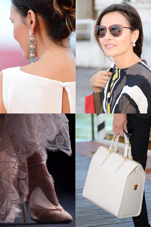 Gli accessori delle star sui red carpet della Mostra del cinema di Venezia 2013