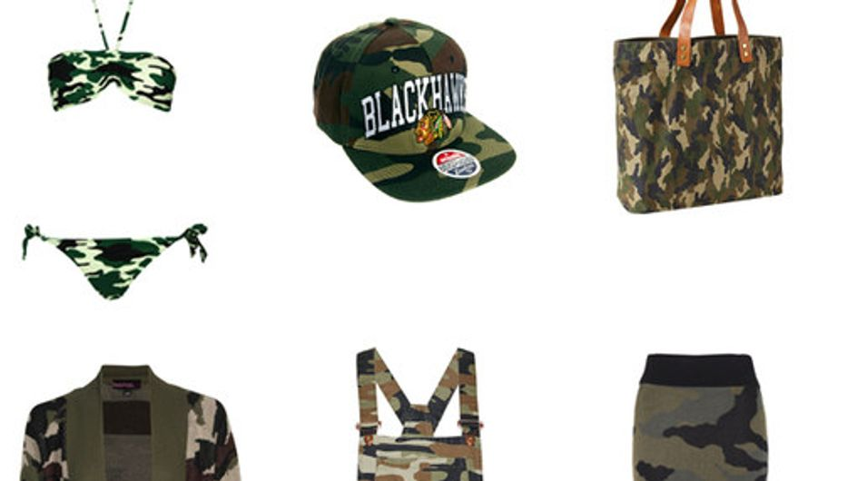 Camouflage: Army print style