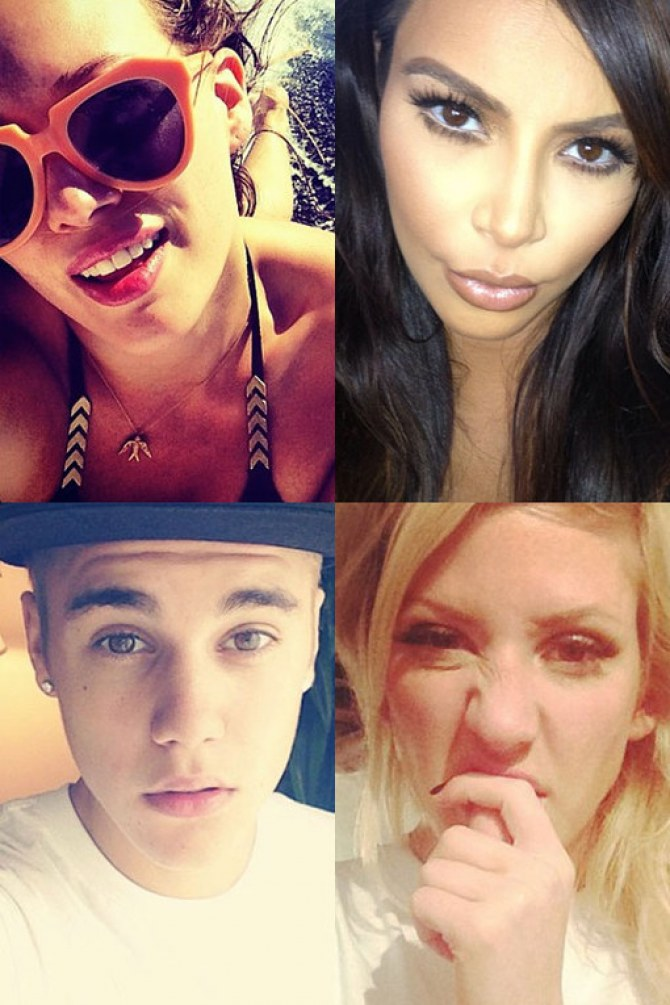 The hottest, weirdest and sexiest celebrity selfies
