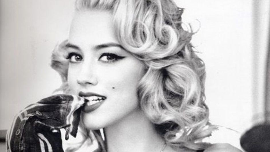 Amber Heard, novia de Johnny Depp, y su lado pin-up