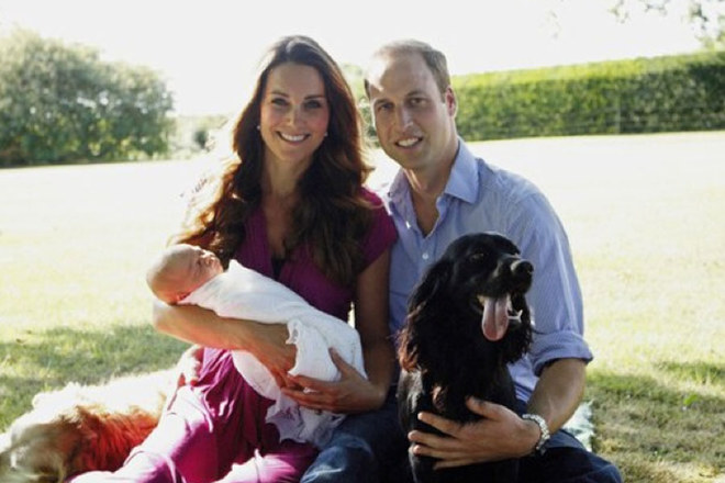 Kate Middleton/ Tutte le foto della neomamma