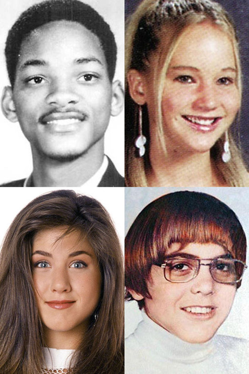 Celebrity school pics and gossip