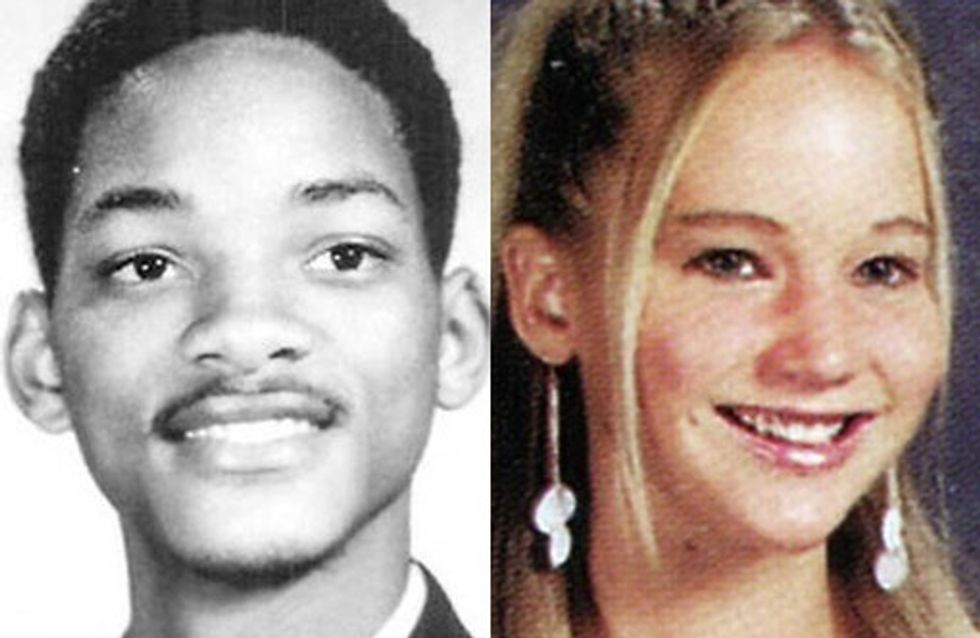 Celebrity school pics and gossip: From geeks to cliques