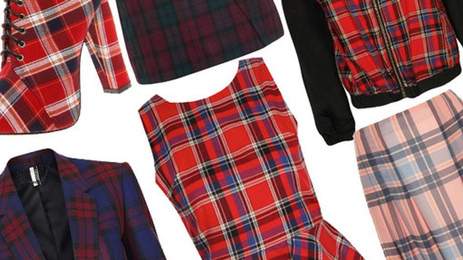 Tartan trend: Highland fling fashion