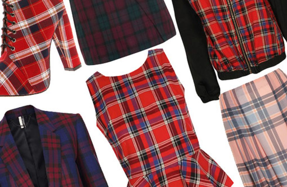 Tartan trend: Highland fling fashion