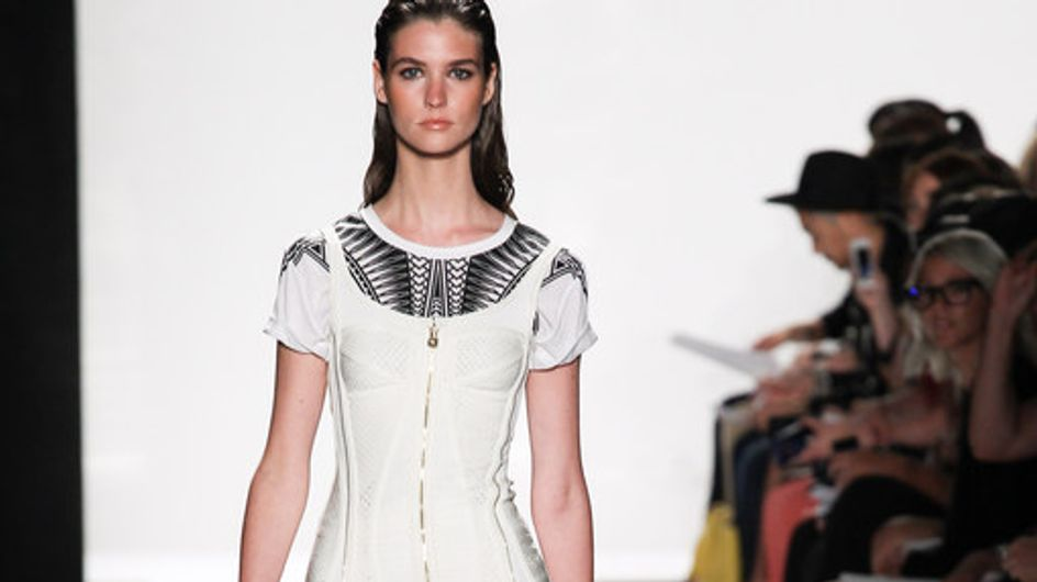Hervé Léger by Max Azria - New York Fashion Week Primavera/Verano 2014