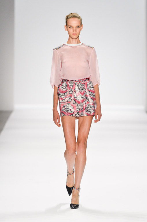 Custo Barcelona New York Fashion Week primavera estate 2014