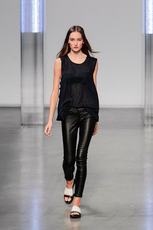 Helmut Lang New York Fashion Week primavera estate 2014