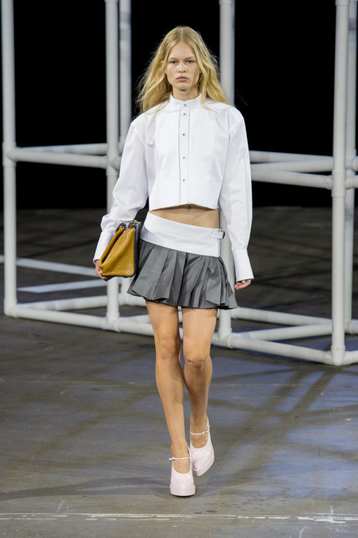 Alexander Wang New York Fashion Week primavera estate 2014