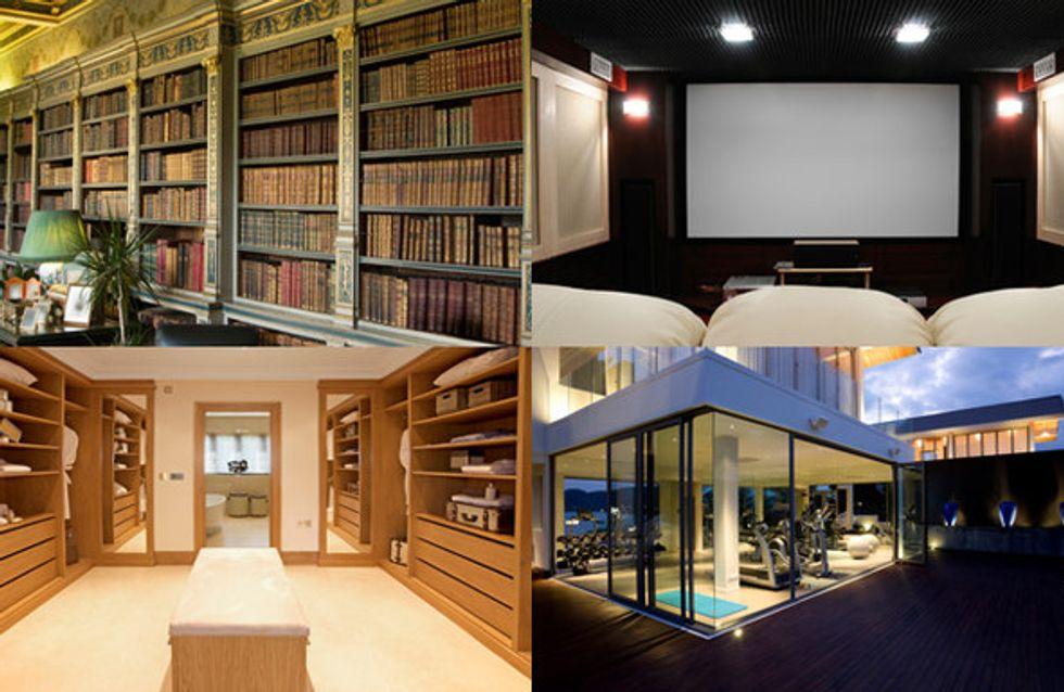 Cabine armadio e cinema domestici. Le stanze degli hobby più lussuose d'Italia