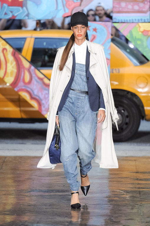 DKNY New York Fashion week primavera estate 2014