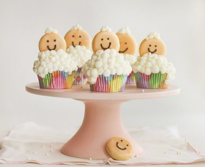 Cake's design para baby showers