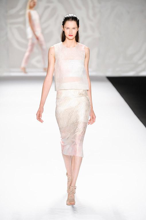 Monique Lhuillier New York Fashion Week primavera estate 2014