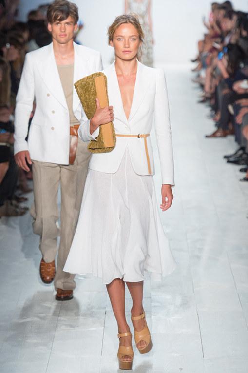 Michael Kors New York Fashion Week primavera estate 2014
