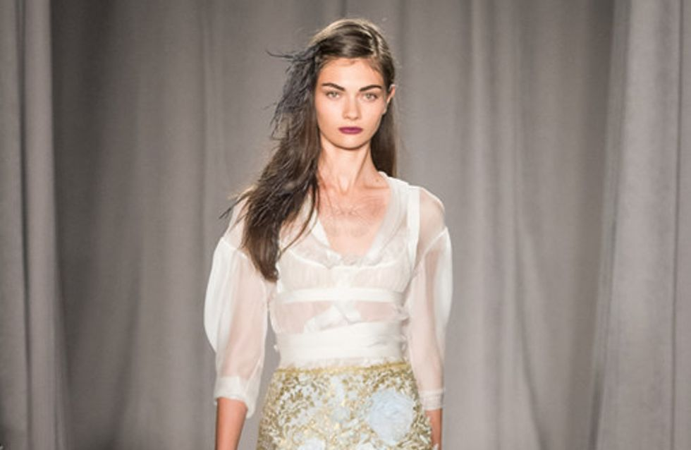 Marchesa New York Fashion Week primavera estate 2014