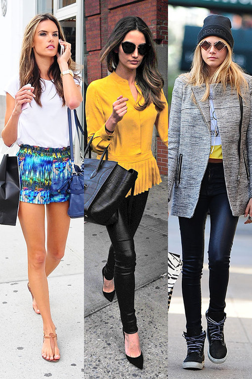 Victoria's Secret Angels: Best model-off-duty fashion