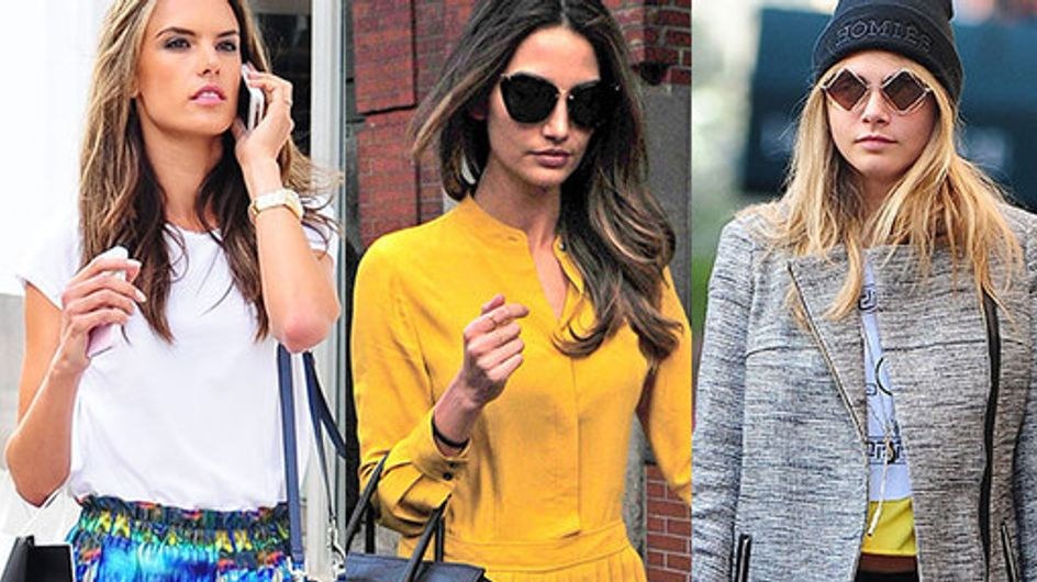 Victoria's Secret Angels: Off duty style
