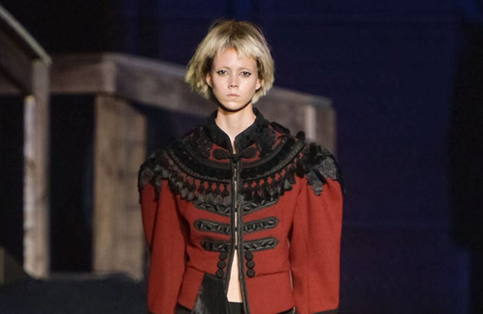 Marc Jacobs, baroque chic