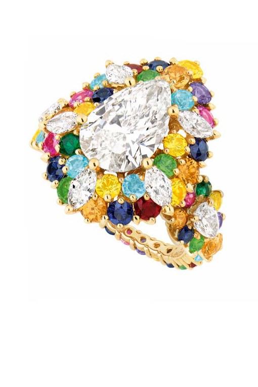 Luxusschmuck zum Träumen: Diamantring von Dior