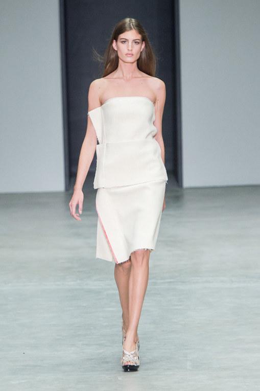 Calvin Klein Collection New York Fashion Week primavera estate 2014