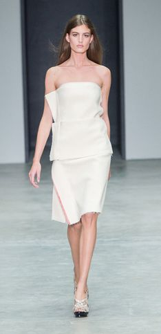 Calvin Klein Collection New York Fashion Week primavera estate 2014