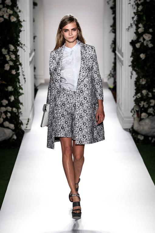 Mulberry London Fashion Week primavera estate 2014