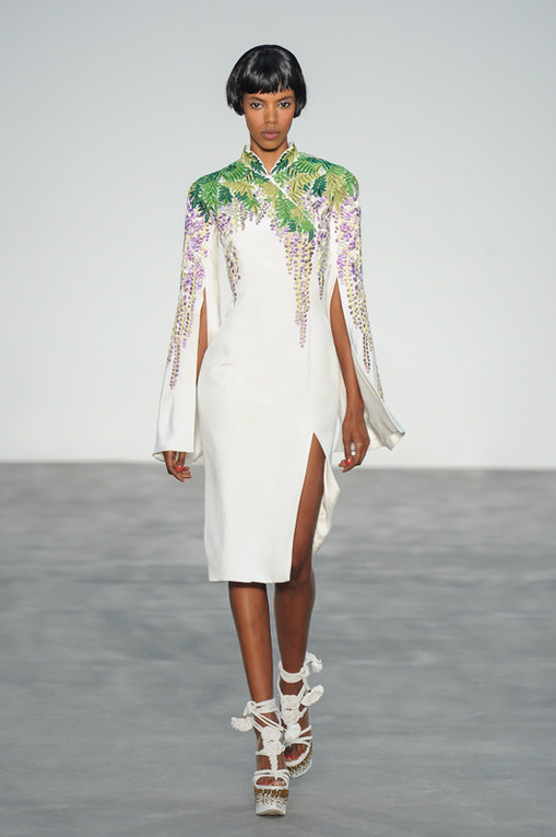 L'Wren Scott London Fashion Week primavera estate 2014