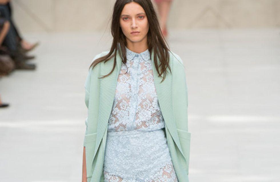 Hauchzarte Sexiness: Burberry Prorsum auf der London Fashion Week