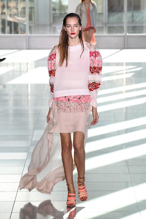 Antonio Berardi London Fashion Week primavera estate 2014