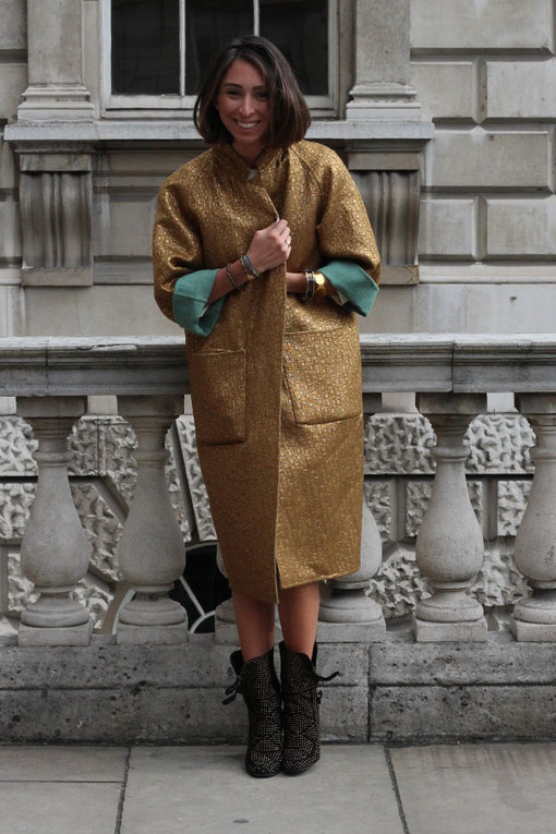 London Fashion Week street style spring/summer 2014