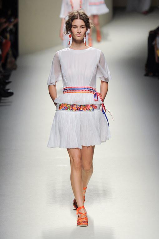 Alberta Ferretti Milano Fashion Week primavera estate 2014