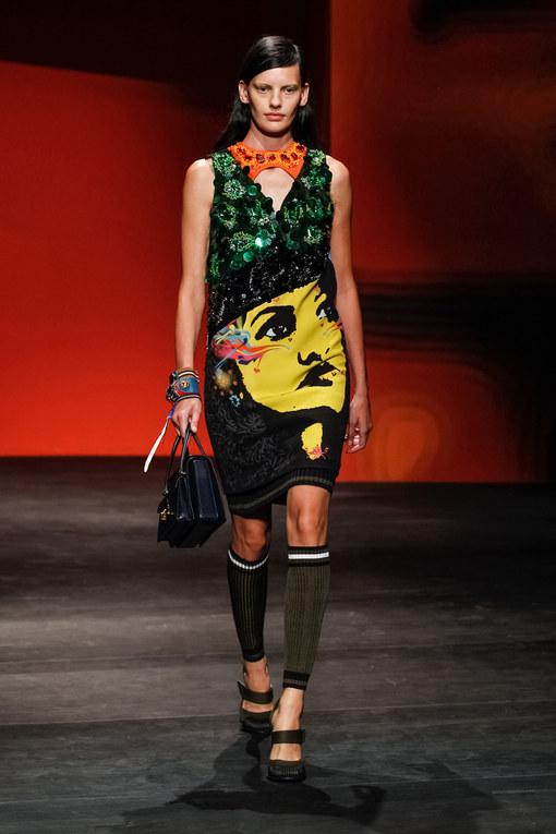 Prada Milano Fashion Week primavera-estate 2014