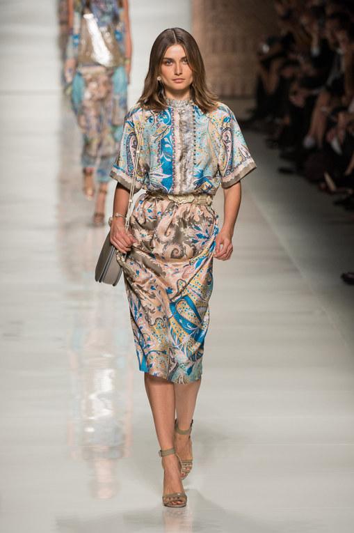 Etro Milano Fashion Week primavera-estate 2014