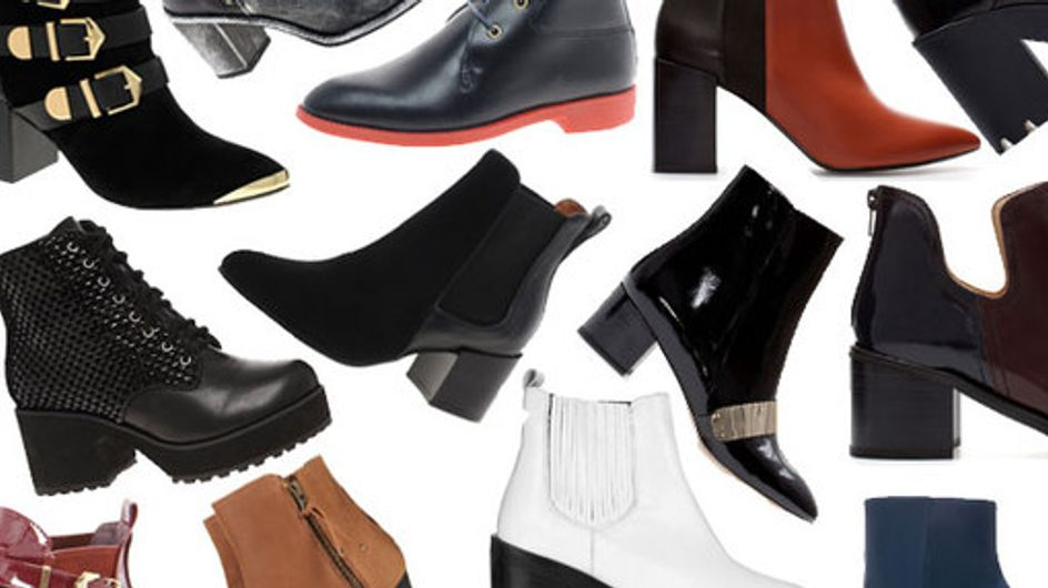 100 ankle boots: Shoes with attitude