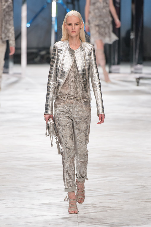Roberto Cavalli Milano Fashion Week primavera-estate 2014