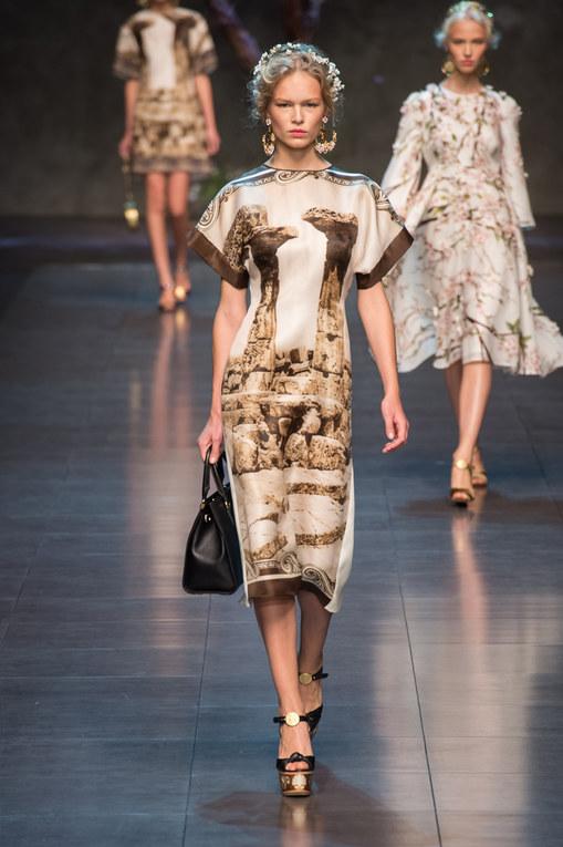 Dolce & Gabbana Milano Fashion Week primavera-estate 2014
