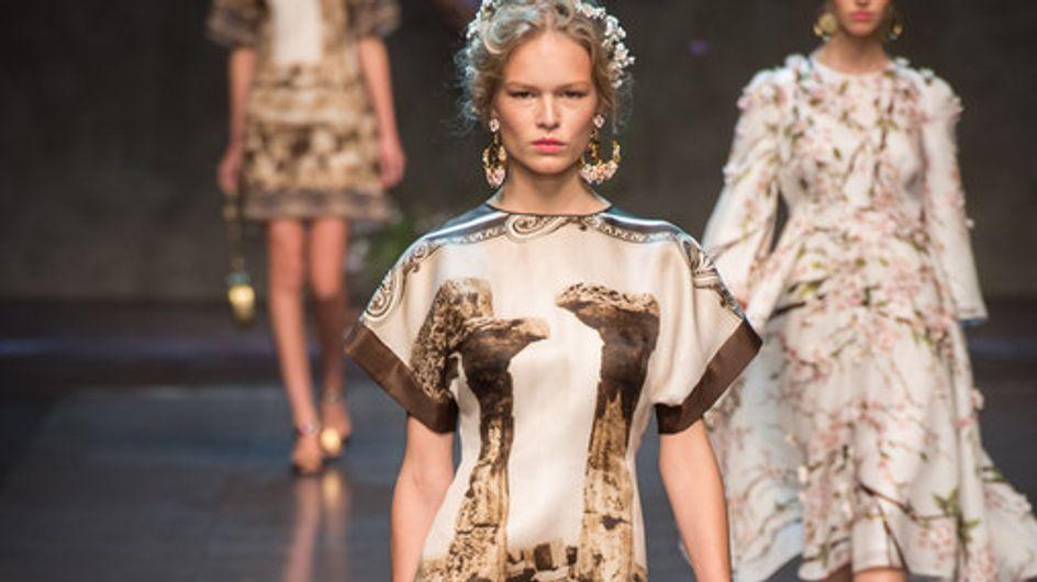 Dolce & Gabbana a Milano Fashion Week