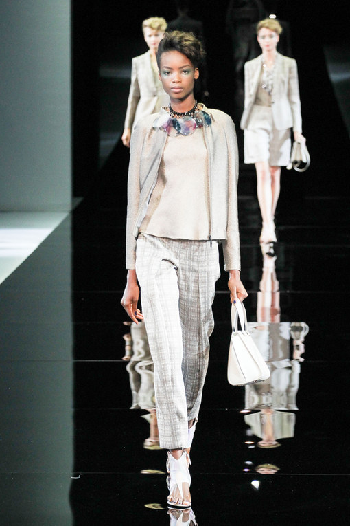 Giorgio Armani Milano Fashion Week primavera-estate 2014