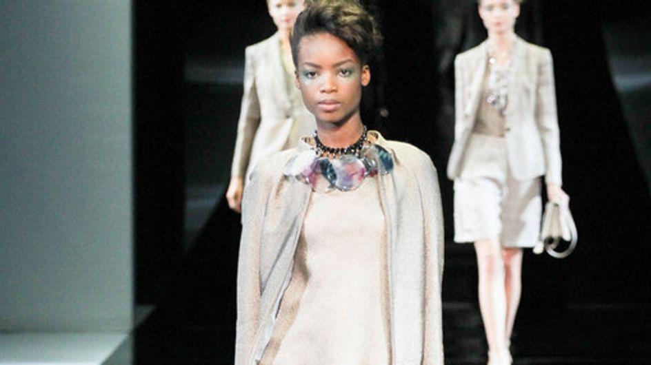 Giorgio Armani Milano Fashion Week primavera-estate 2014