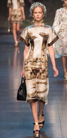 Wandelnde Goldschätze! Dolce & Gabbana zeigt prachtvolle Kollektion