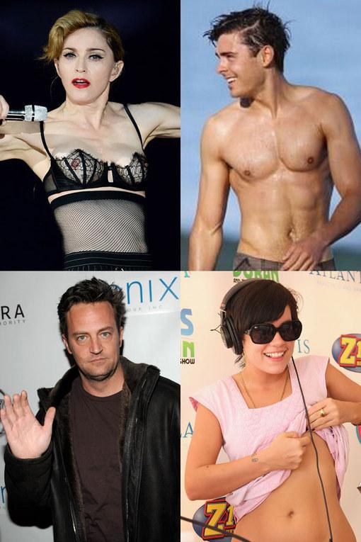 Freaky celebrity body parts