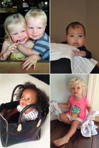 Promi-Kinder: Stars zeigen ihren Nachwuchs