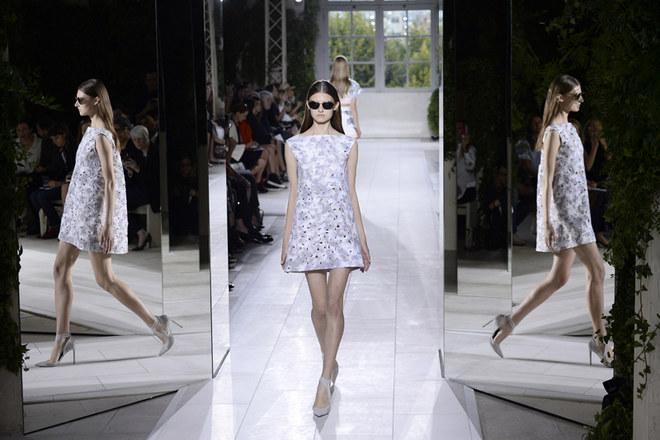 Balenciaga Parigi Fashion Week primavera estate 2014