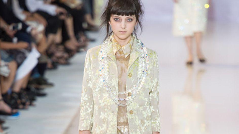 La sfilata Rochas alla Parigi Fashion Week primavera estate 2014