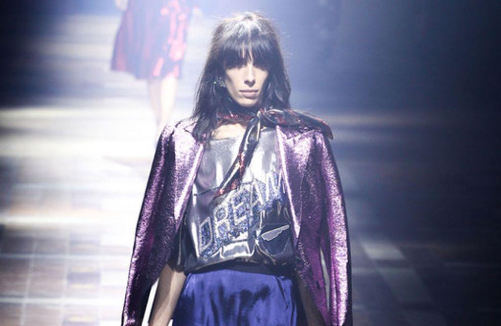 La sfilata Lanvin alla Parigi Fashion Week primavera estate 2014