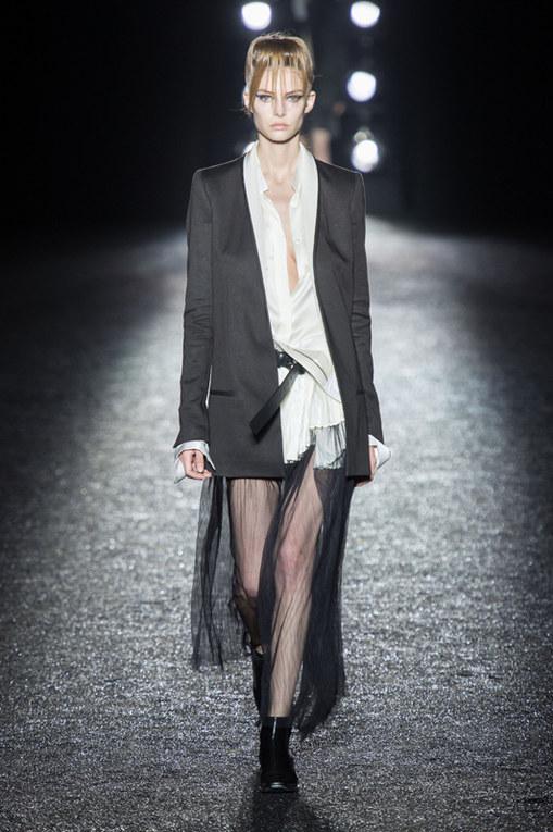 Haider Ackermann Parigi Fashion Week primavera estate 2014