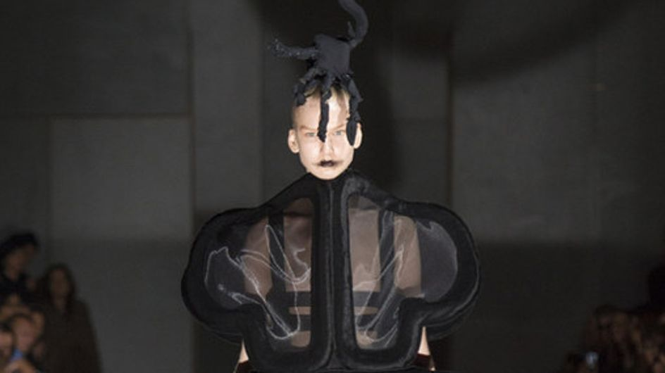 Comme Des Garçons Parigi Fashion Week primavera estate 2014