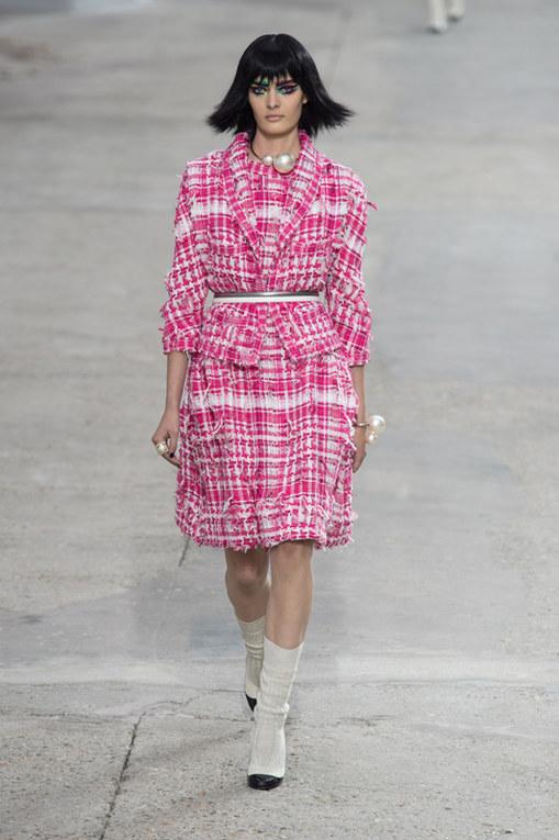 Chanel Parigi Fashion Week primavera estate 2014